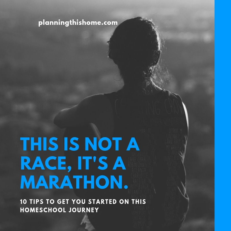homeschool marathon