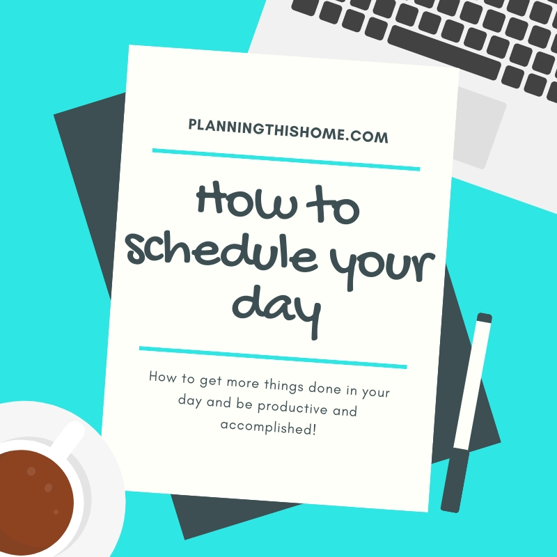 How to schedule your day (1)