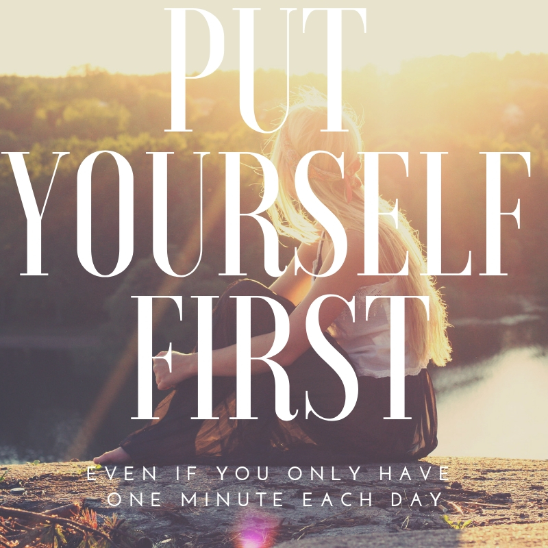 Put yourself first