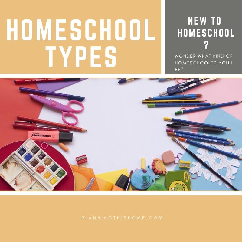 Homeschool types