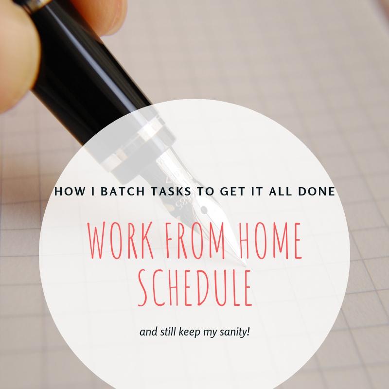 batch schedule (2)