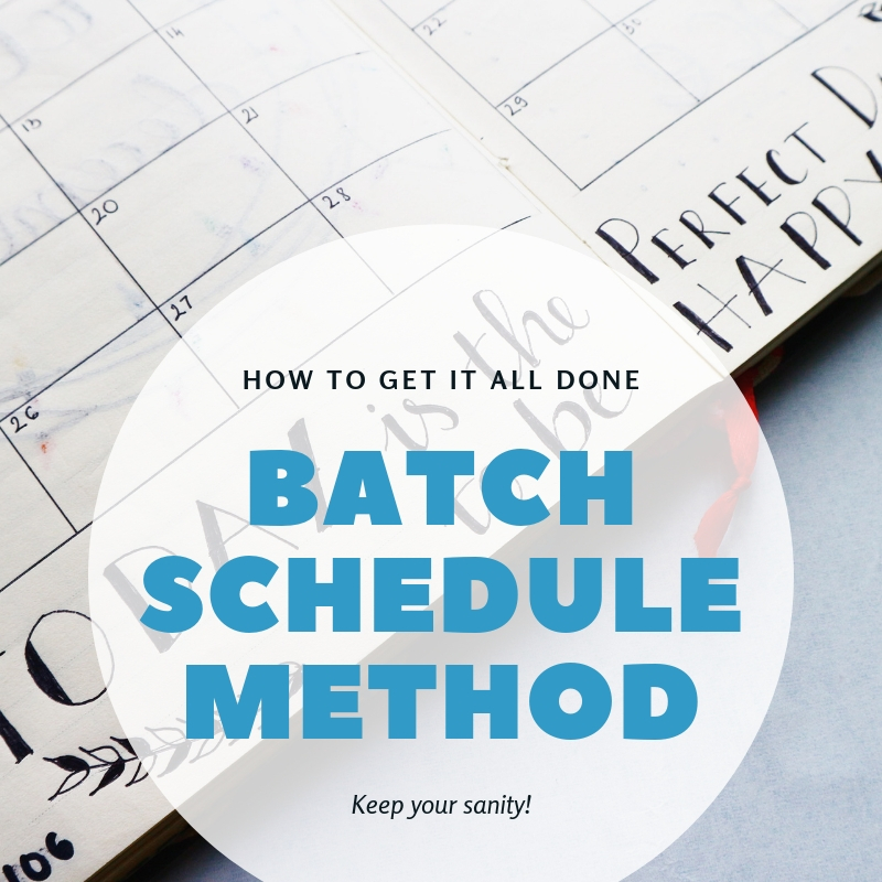batch schedule