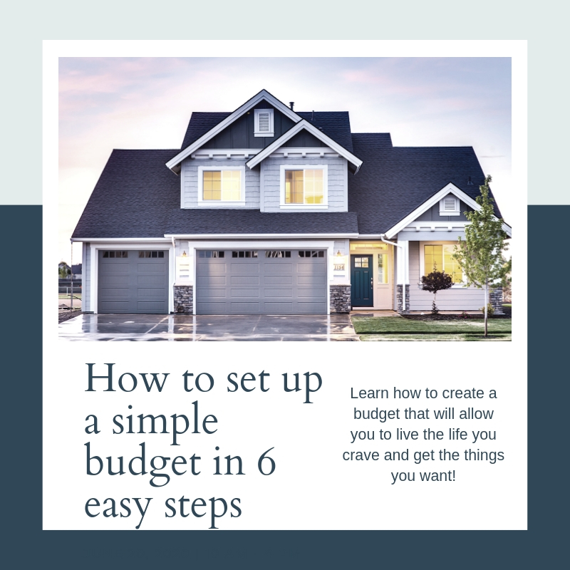How to set up a simple budget in 6 easy steps! (2)