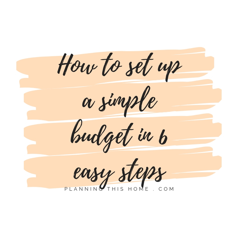 How to set up a simple budget in 6 easy steps! (3)