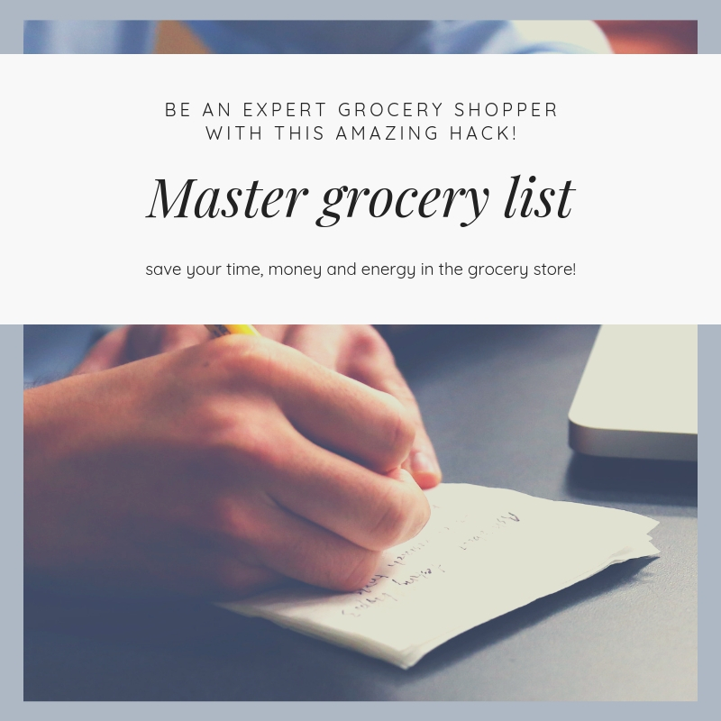 Why you need a master grocery list (3)