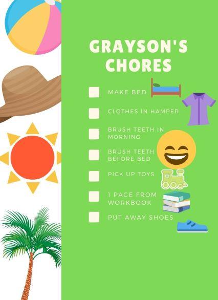 Grayson's chores - Copy