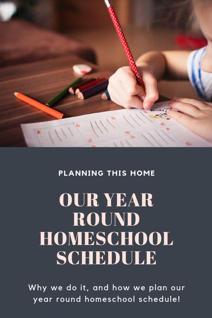 year round homeschool