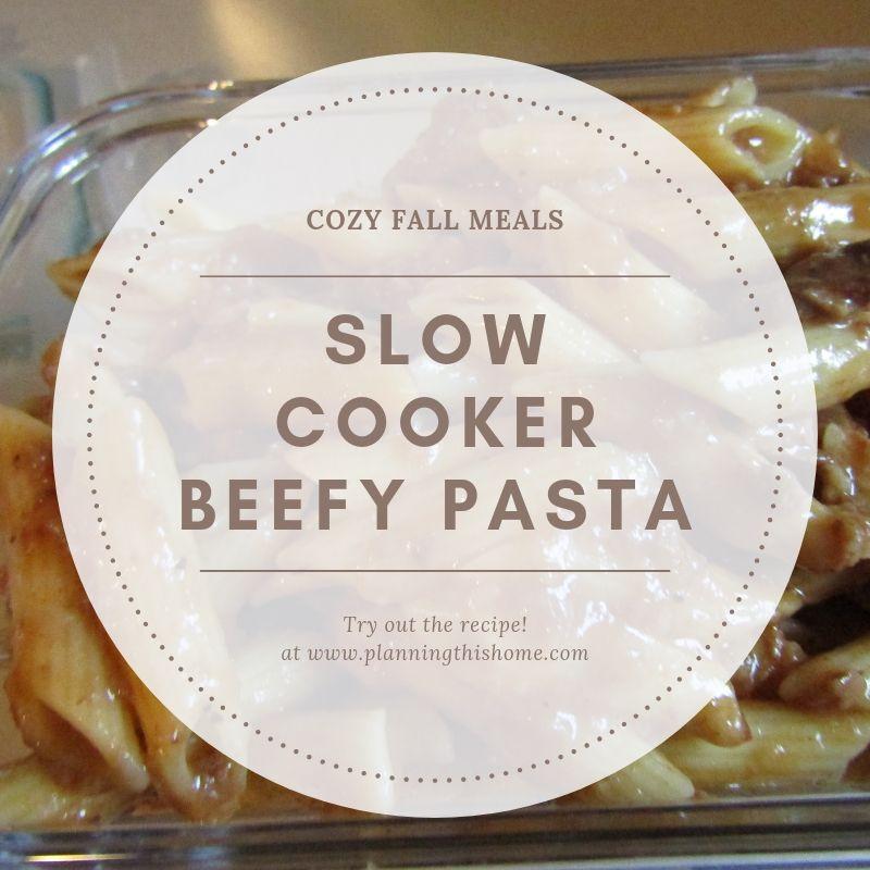Cozy Fall Meals