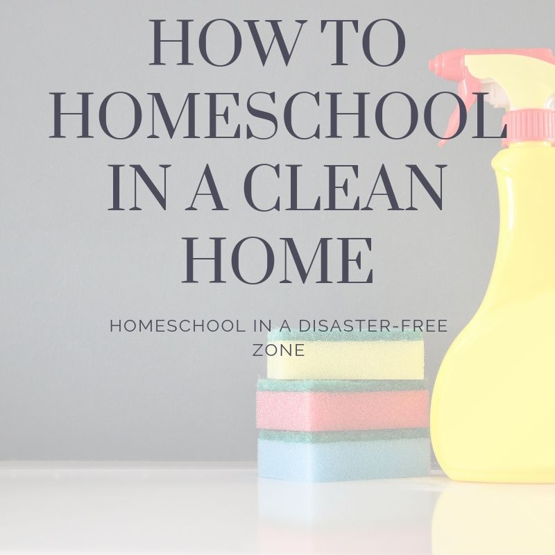 How to homeschool in a clean home (1)