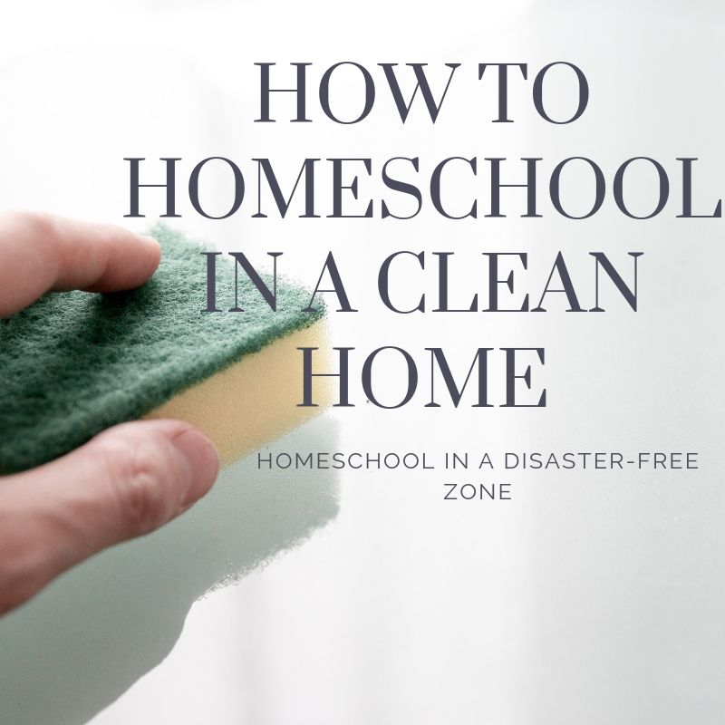 How to homeschool in a clean home (3)