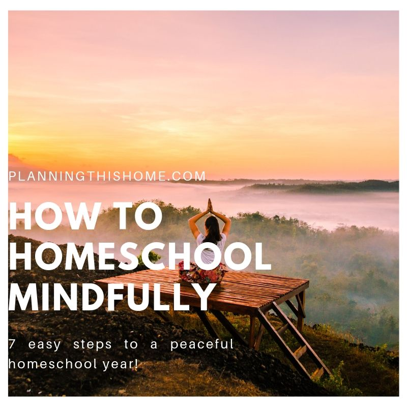 mindful homeschool