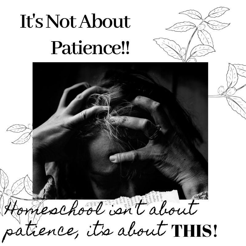 It's Not About Patience!!