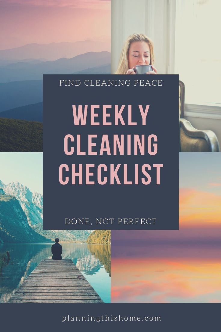 Find Cleaning peace